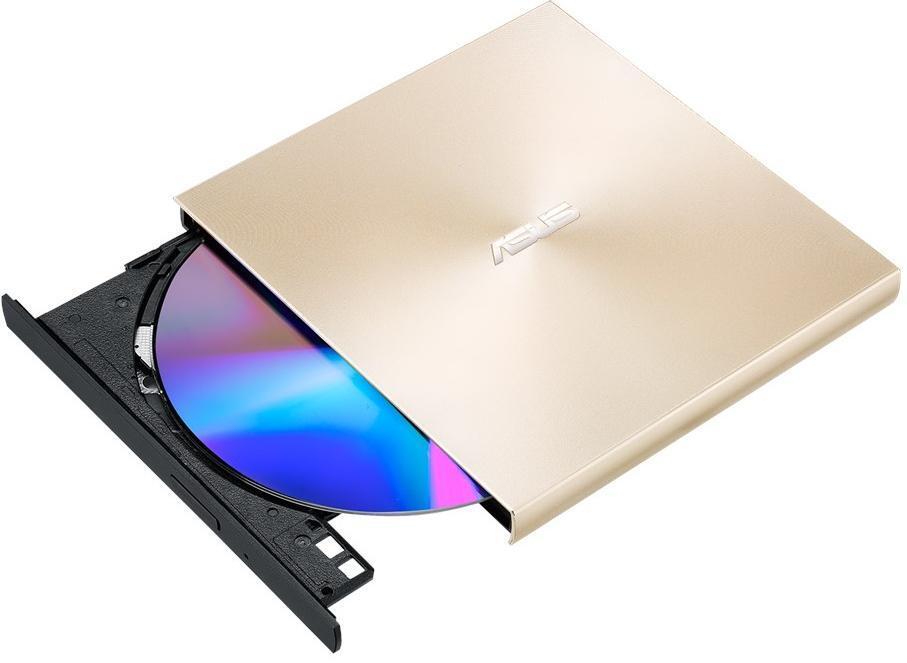 Зовнішній оптичний привід ASUS ZenDrive SDRW-08U9M-U DVD+-R/RW USB2.0 EXT Ret Ultra Slim GOLD фото5