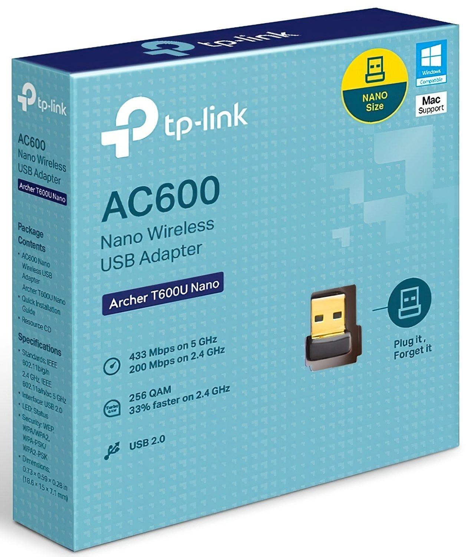 WiFi-адаптер TP-Link Archer T600U Nano фото2
