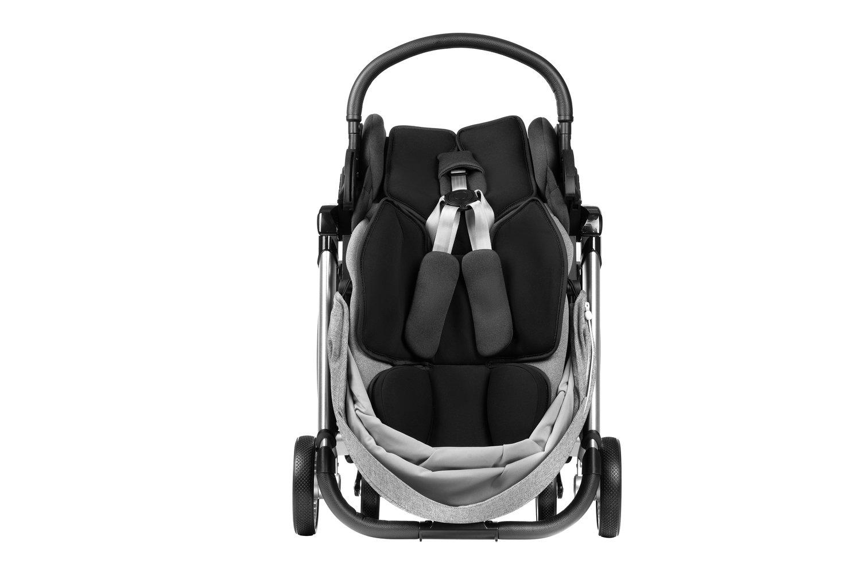 Детская коляска 2в1 Miqilong Luna Grey фото