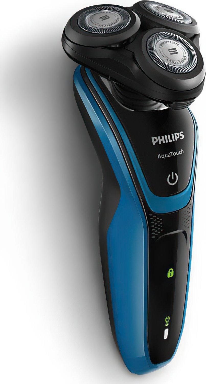 Электробритва для влажного и сухого бритья Philips AquaTouch фото 3