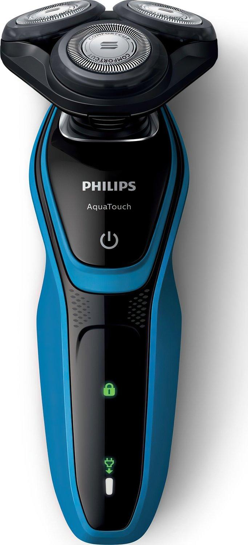 Электробритва для влажного и сухого бритья Philips AquaTouch фото 2