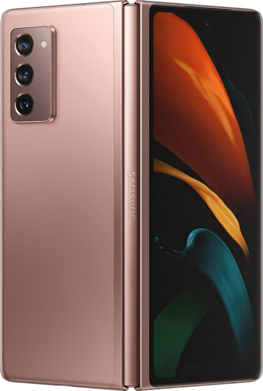 Смартфон Samsung Galaxy Z Fold2 Bronze фото 2