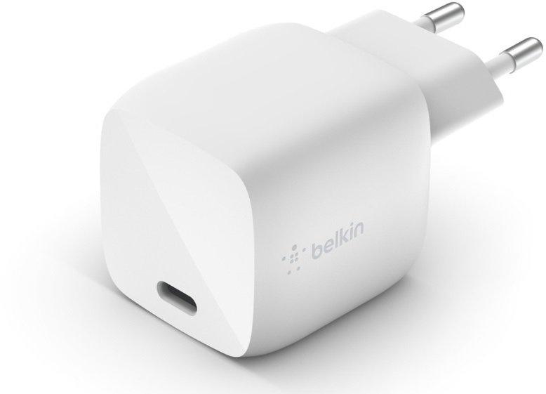 Сетевое ЗУ Belkin GAN (30W) USB-С, white фото 3