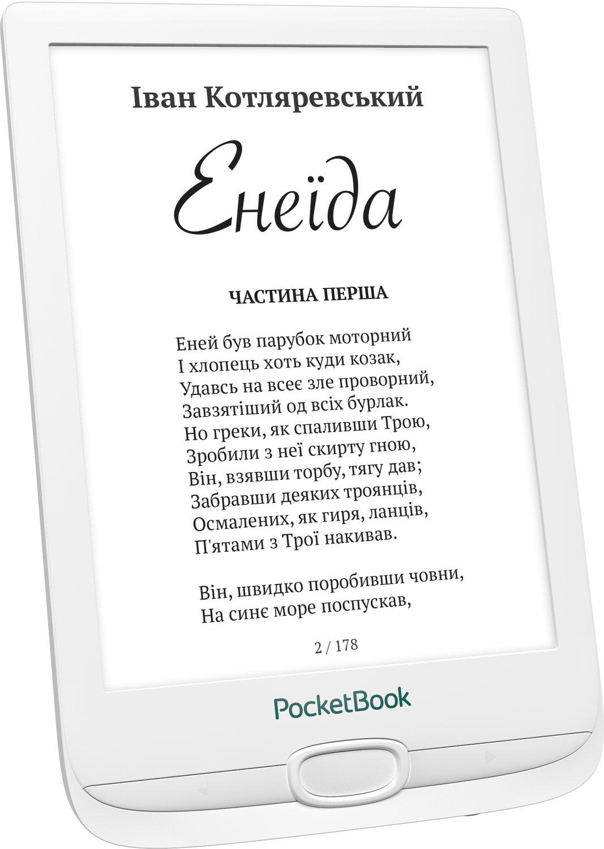 Електронна книга PocketBook 606 White фото4