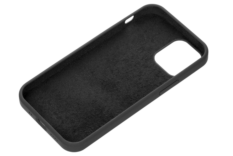 Чехол 2Е для iPhone 12 mini Liquid Silicone Black (2E-IPH-12-OCLS-BK) фото 2