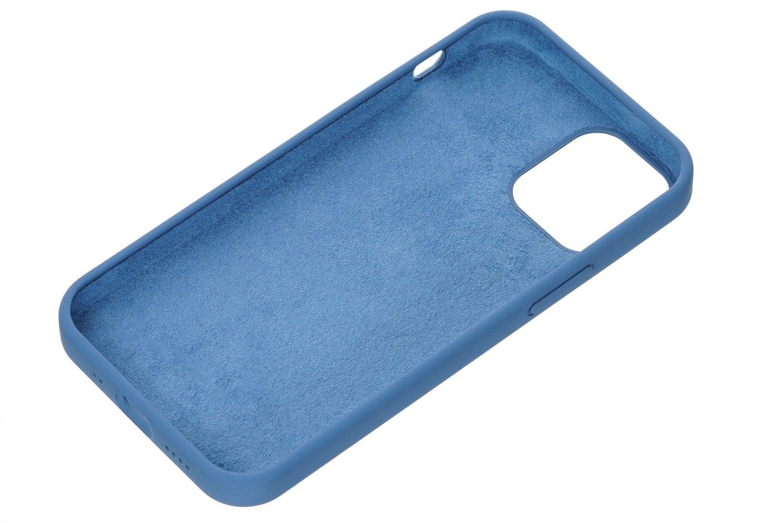 Чехол 2Е для iPhone 12 mini Liquid Silicone Cobalt Blue (2E-IPH-12-OCLS-CB) фото 2