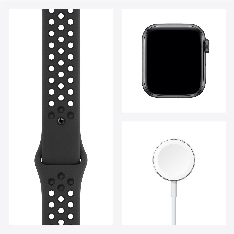 Смарт-часы Apple Watch Nike SE GPS 40mm Space Gray Aluminium Case with Anthracite/Black Nike Sport Band Regular фото