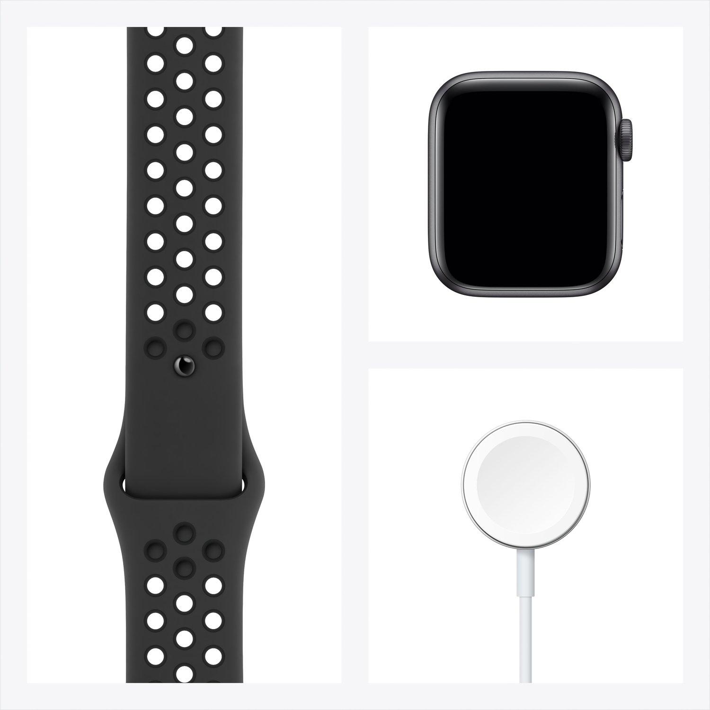 Смарт-часы Apple Watch Nike Series 6 GPS 40mm Space Gray Aluminium Case with Anthracite/Black Nike Sport Band Regular фото