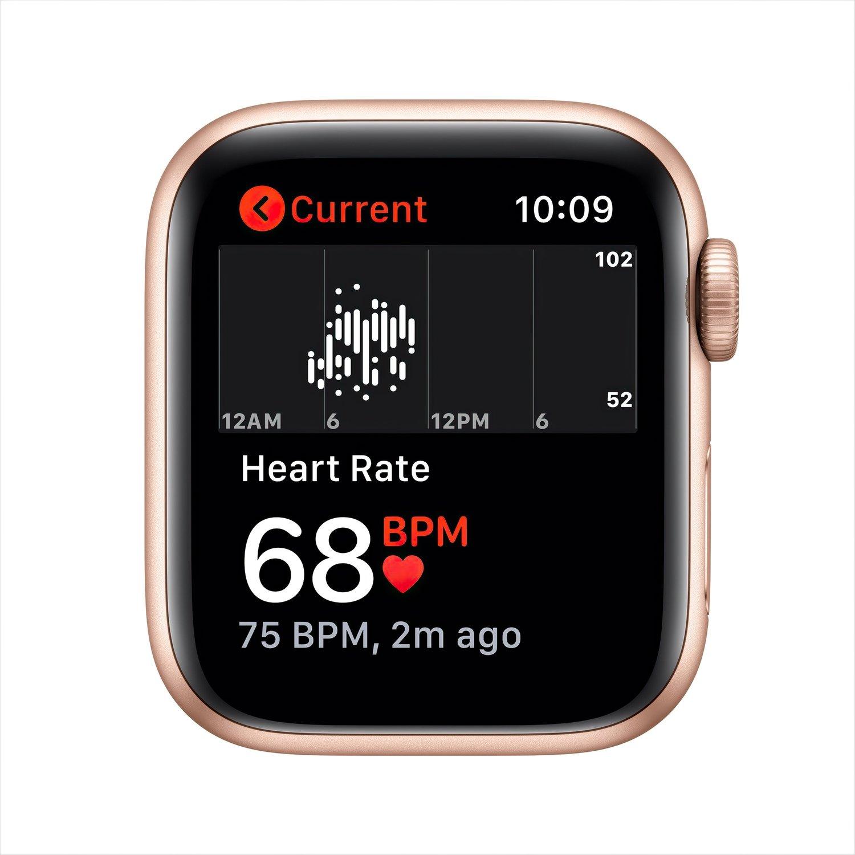 Смарт-часы Apple Watch SE GPS 40mm Gold Aluminium Case with Pink Sand Sport Band Regular фото