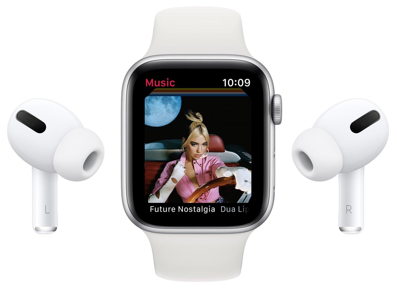 Смарт-часы Apple Watch Series 6 GPS 40mm Blue Aluminium Case with Deep Navy Sport Band Regular фото