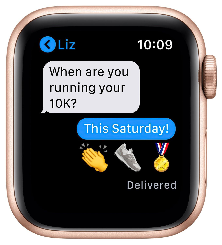Смарт-часы Apple Watch Series 6 GPS 40mm Gold Aluminium Case with Pink Sand Sport Band Regular фото