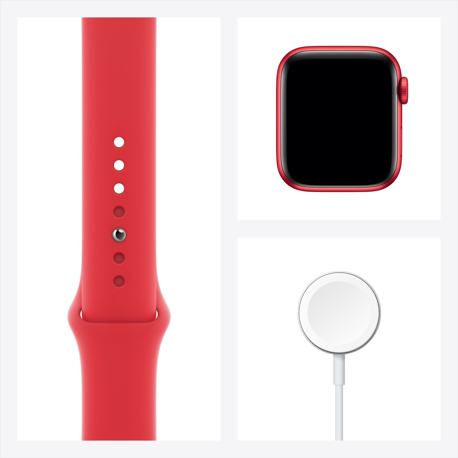Смарт-часы Apple Watch Series 6 GPS 40mm PRODUCT(RED) Aluminium Case with PRODUCT(RED) Sport Band Regular фото