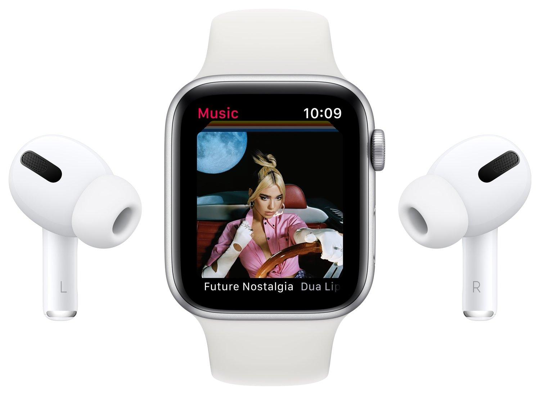 Смарт-годинник Apple Watch Series 6 GPS 40mm Silver Aluminium Case with White Sport Band Regular фото