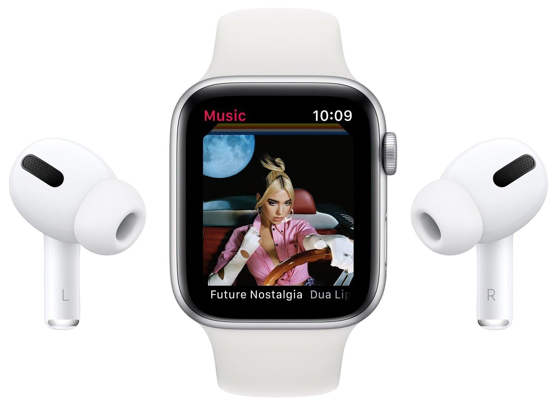 Смарт-часы Apple Watch Series 6 GPS 40mm Space Gray Aluminium Case with Black Sport Band Regular фото