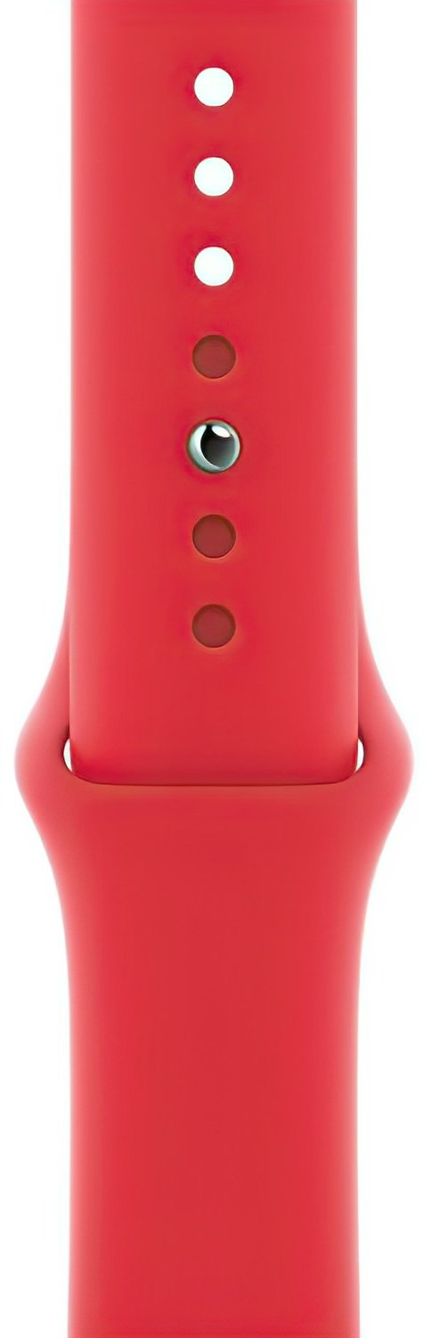 Смарт-часы Apple Watch Series 6 GPS 44mm PRODUCT(RED) Aluminium Case with PRODUCT(RED) Sport Band Regular фото