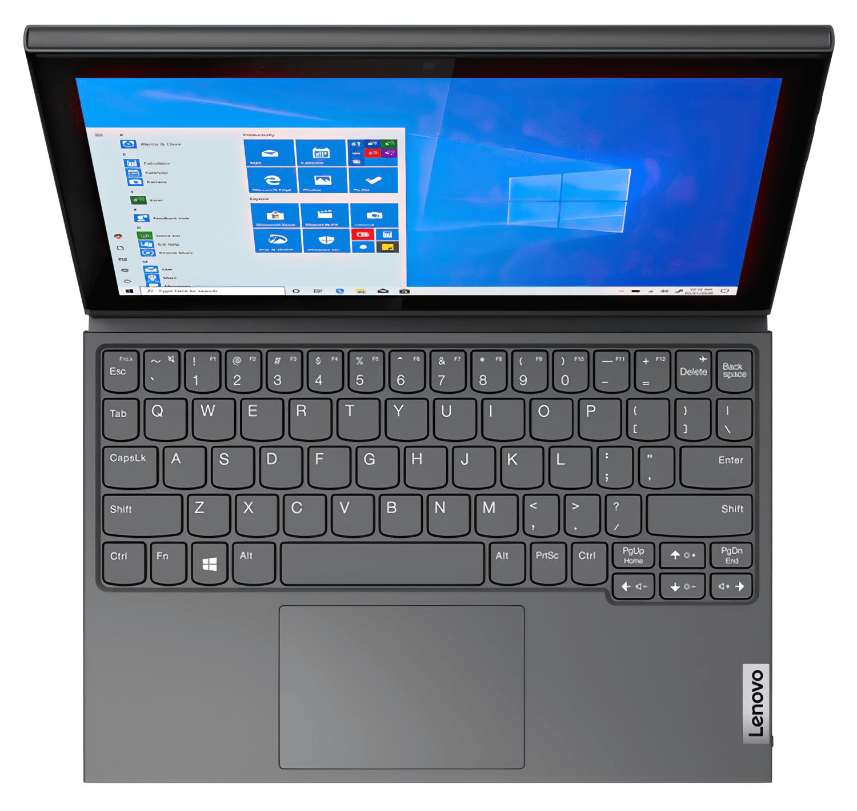 Планшет Lenovo IdeaPad Duet 3 N4020 4/64Gb Win10P Graphite Greyфото