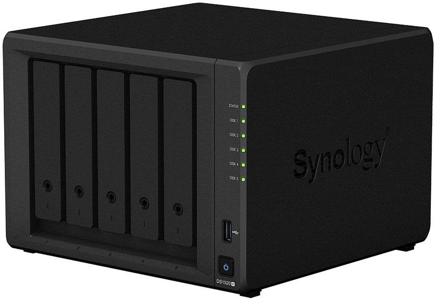 Сетевое хранилище Synology DS1520+ фото
