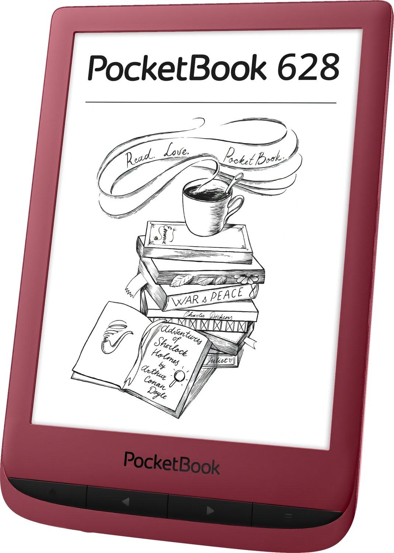 Електронна книга PocketBook 628 Ruby Red фото3