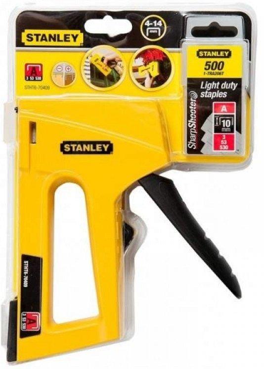Степлер Stanley 4-14мм STHT6-70409 фото