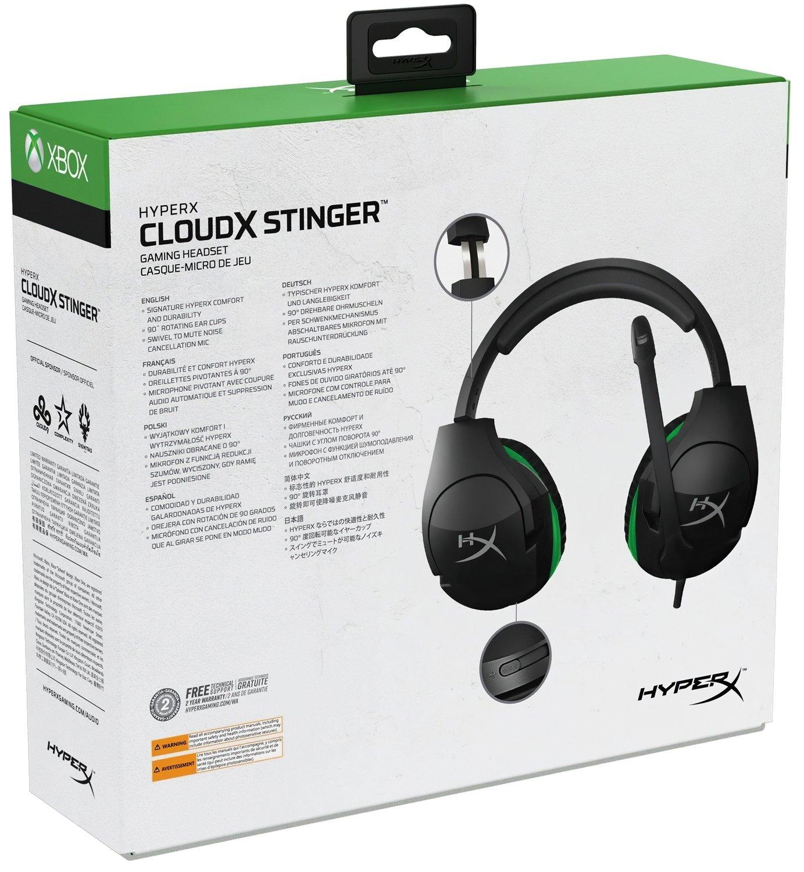 Игровая гарнитура HyperX Cloud Stinger Gaming Headset (HX-HSCSX-BK/WW) фото 7