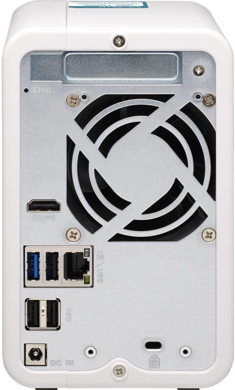 Сетевое хранилище QNAP TS-251D-2G фото