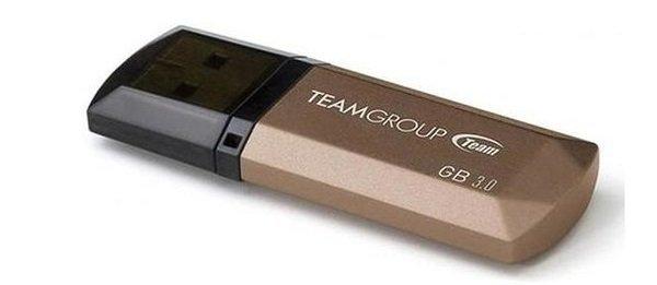 Накопичувач USB 3.0 Team 128GB C155 Golden (TC1553128GD01) фото