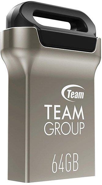 Накопичувач USB 3.0 Team 64GB C162 Black (TC162364GB01) фото