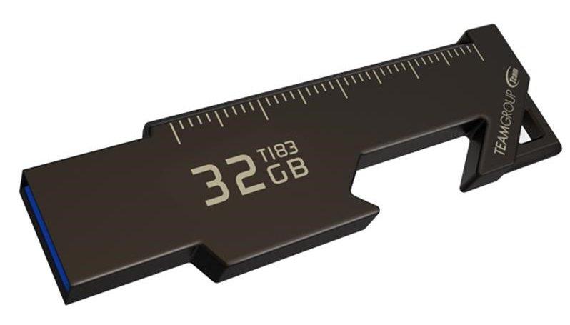 Накопичувач USB 3.2 Team 32GB T183 Black (TT183332GF01) фото
