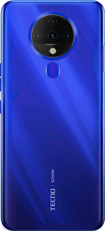 Смартфон TECNO Spark 6 (KE7) 4/128Gb DS Ocean Blue фото 2