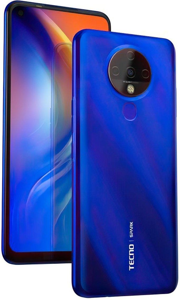 Смартфон TECNO Spark 6 (KE7) 4/128Gb DS Ocean Blue фото 4