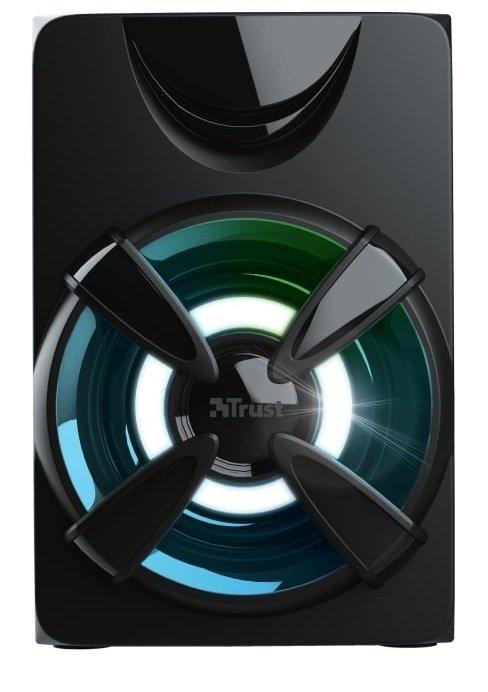 Акустична система Trust 2.1 Ziva RGB Black фото