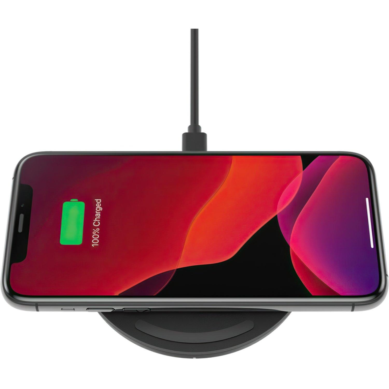 Беспроводной ЗУ Belkin Pad Wireless Charging Qi, 15W, black фото