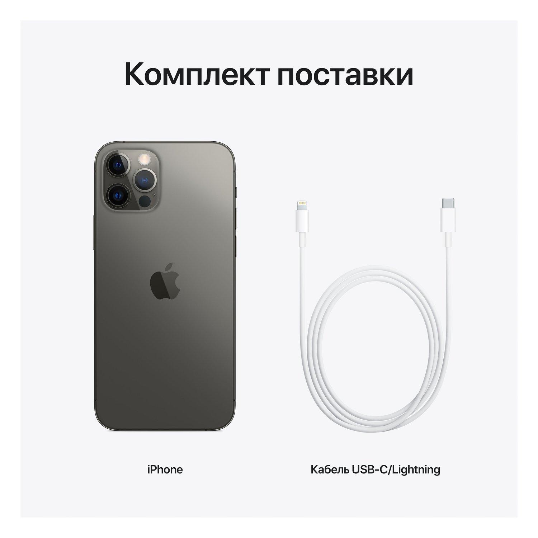 Смартфон Apple iPhone 12 Pro 256GB Graphite (MGMP3) фото 8