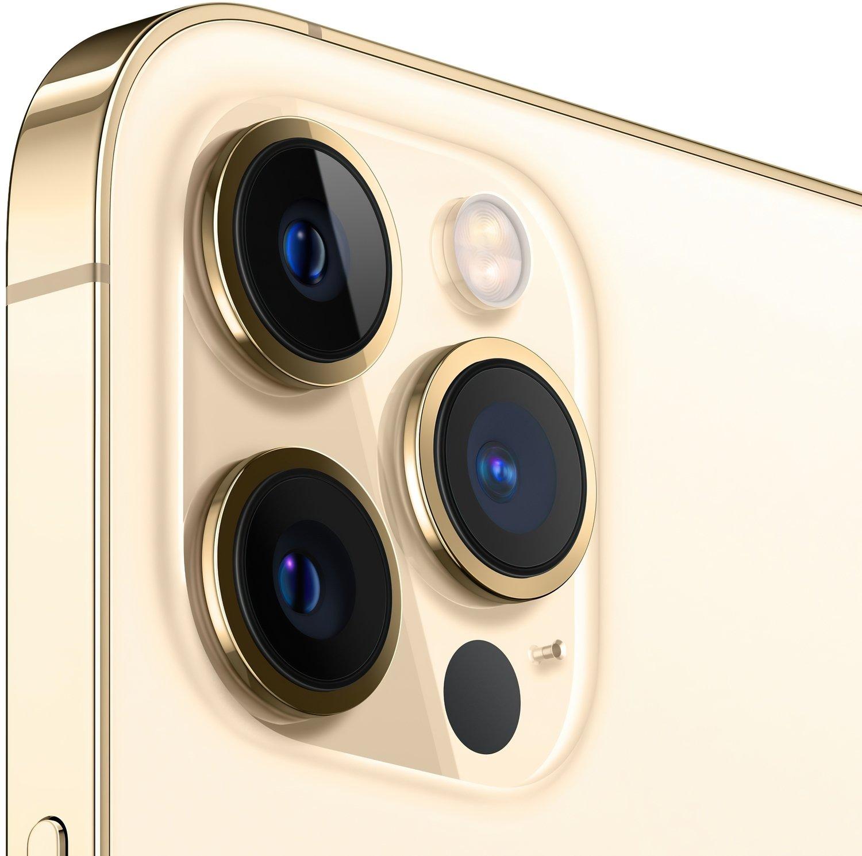 Смартфон Apple iPhone 12 Pro Max 256GB Gold (MGDE3) фото 2