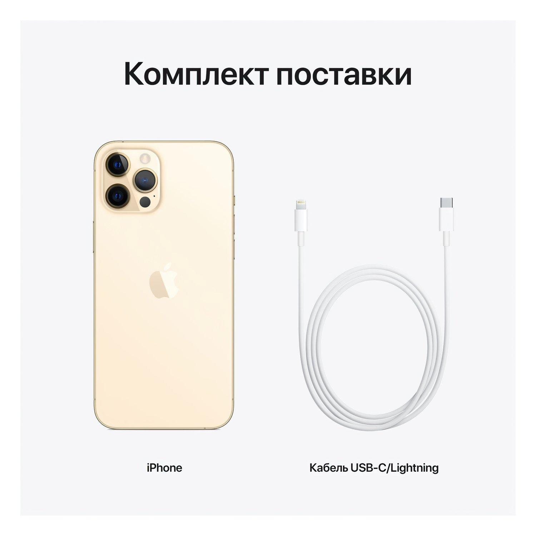 Смартфон Apple iPhone 12 Pro Max 256GB Gold (MGDE3) фото 4