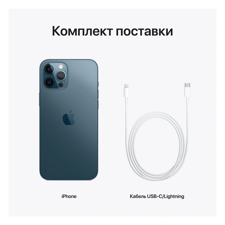 Смартфон Apple iPhone 12 Pro Max 256GB Pacific Blue (MGDF3) фото 4