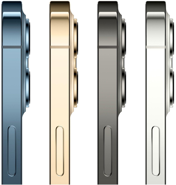 Смартфон Apple iPhone 12 Pro Max 512GB Silver (MGDH3) фото 4