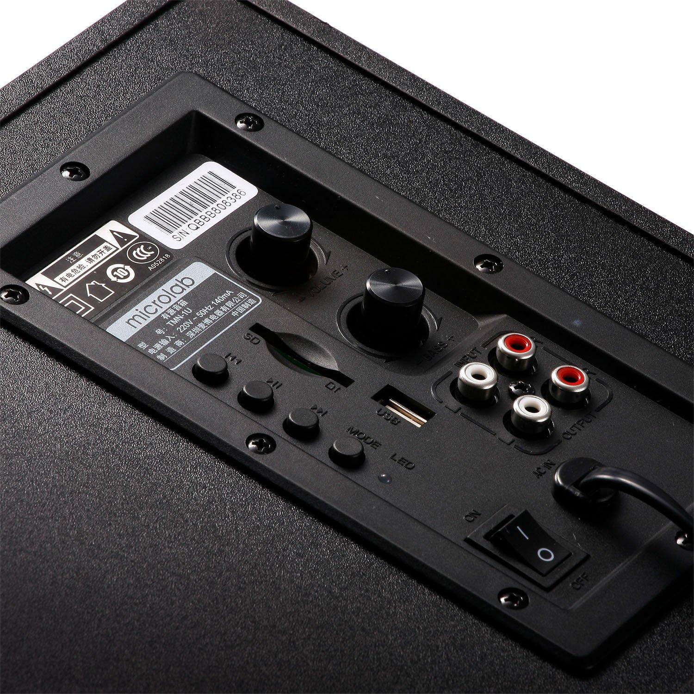 Акустична система MICROLAB TMN-9U 2.1 Blackфото