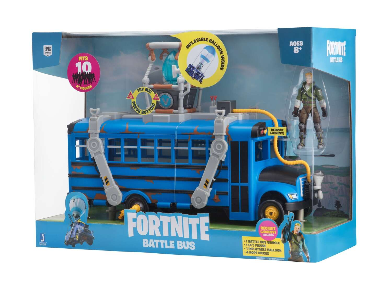 Коллекционная фигурка Jazwares Fortnite Deluxe Vehicle Battle Bus (FNT0380) фото