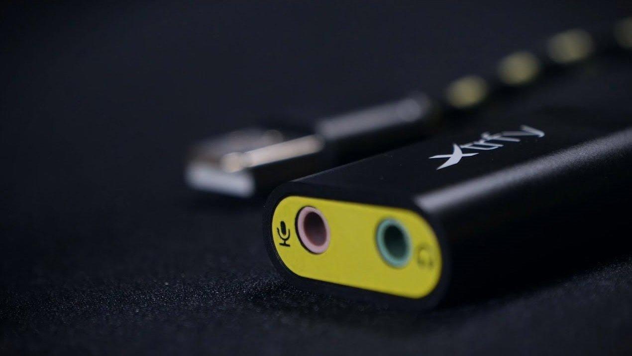 Зовнішня звукова карта Xtrfy SC1 USB Black (XG-SC1) фото5