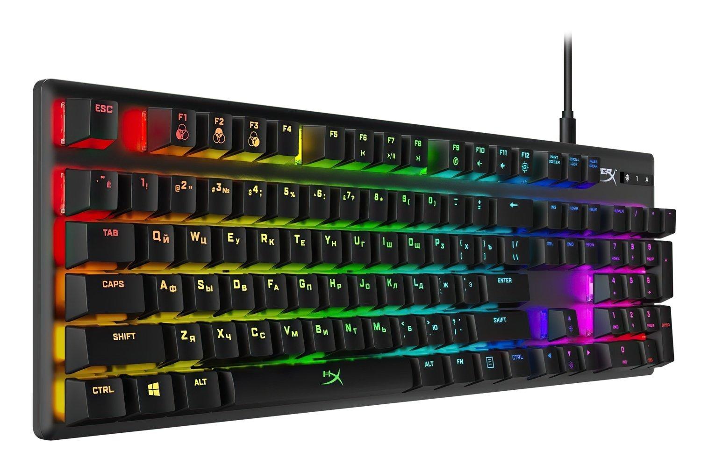 Игровая клавиатура HyperX Alloy Origins USB Blue (HX-KB6BLX-RU) фото 3