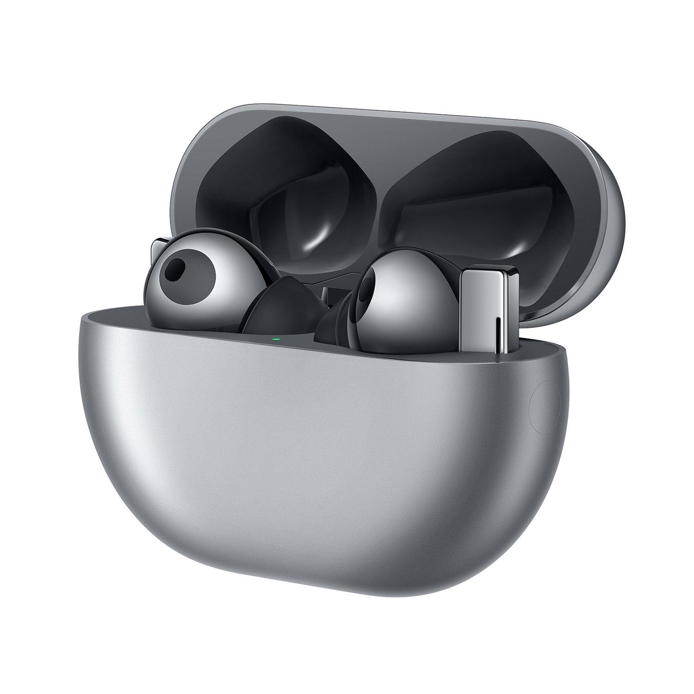 Навушники Bluetooth Huawei FreeBuds Pro Silver Frost фото2