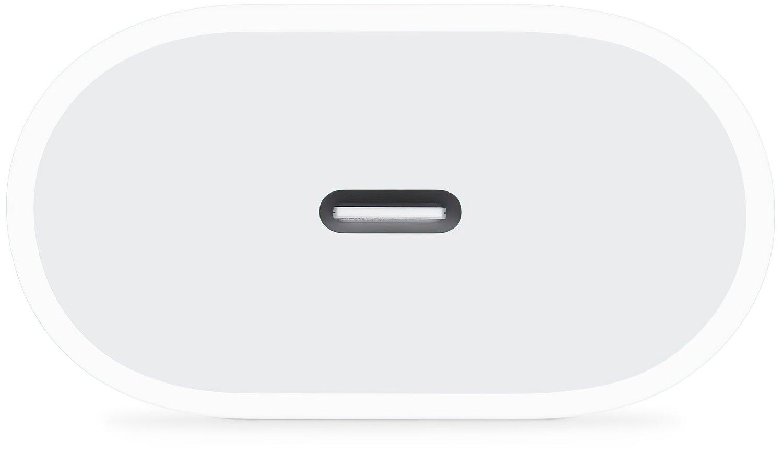 Сетевое зарядное устройство Apple 20W USB-C Power Adapter White (MHJE3ZM/A) фото 3