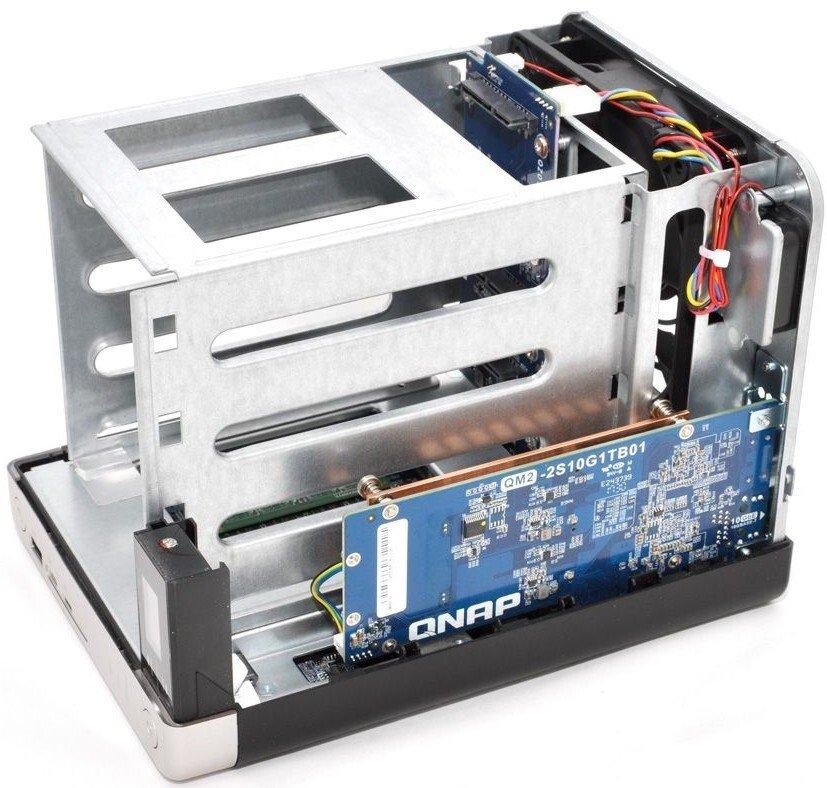 Мережеве сховище QNAP TS-453BT3-8G (10GbE) фото