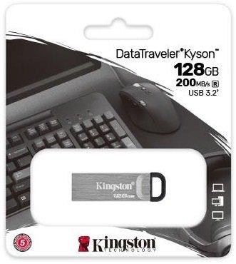 Накопичувач USB 3.2 Kingston 128GB Gen1 DT Kyson (DTKN/128GB) фото5