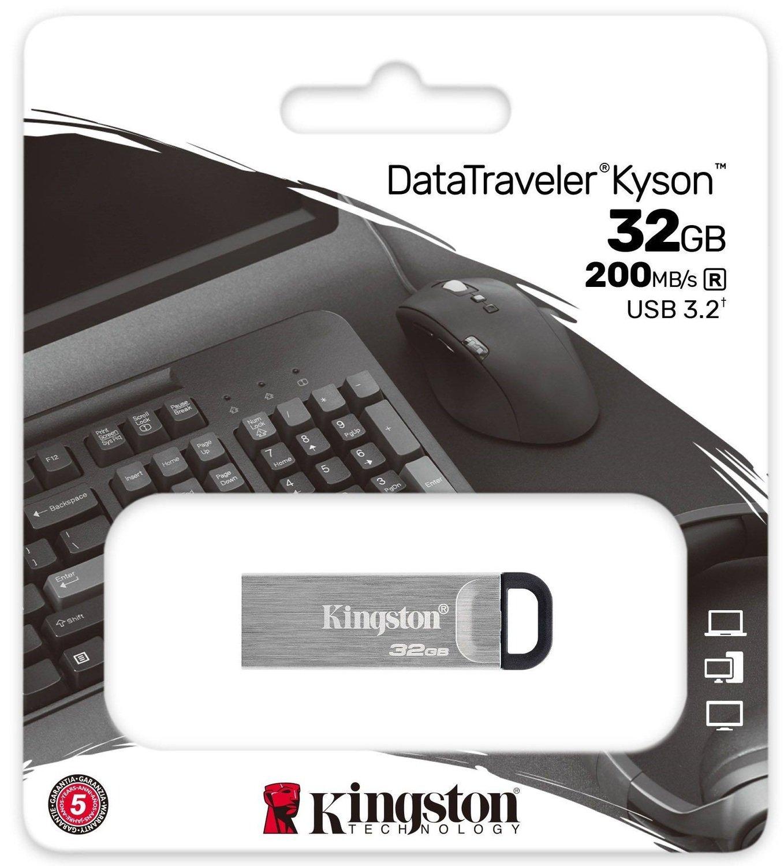 Накопичувач USB 3.2 Kingston 32GB Gen1 DT Kyson (DTKN/32GB) фото4