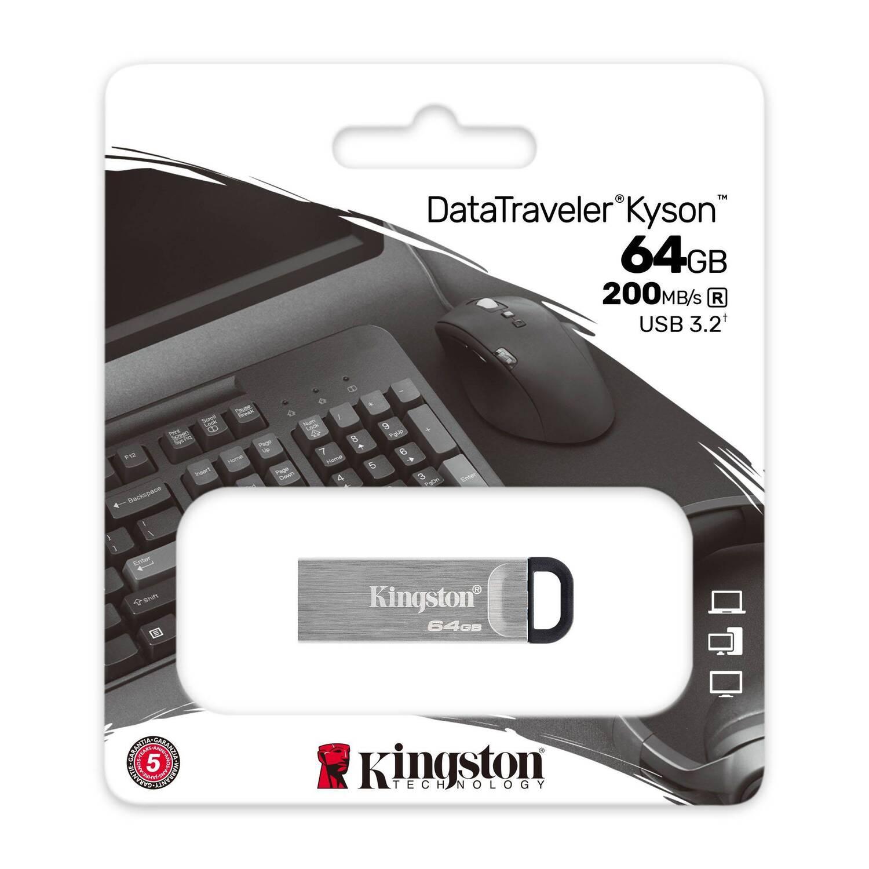 Накопичувач USB 3.2 Kingston 64GB Gen1 DT Kyson (DTKN/64GB) фото5