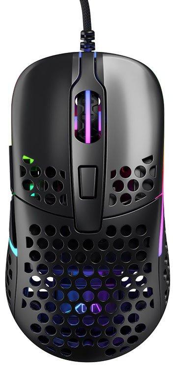 Ігрова миша Xtrfy M42 RGB, Black (XG-M42-RGB-BLACK) фото
