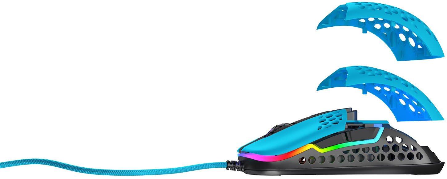 Ігрова миша Xtrfy M42 RGB, Miami Blue (XG-M42-RGB-BLUE) фото