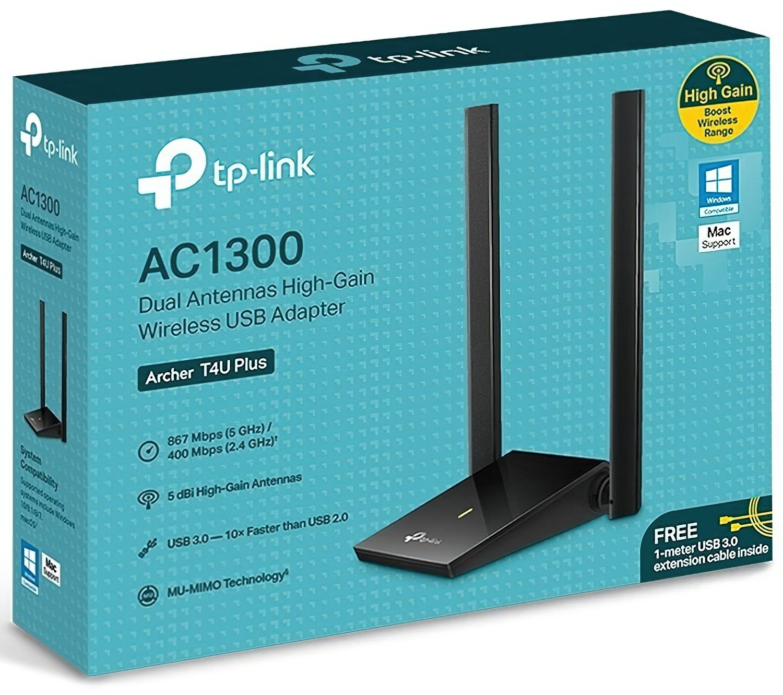 WiFi-адаптер TP-Link Archer T4U plus (ARCHER-T4U-PLUS) фото4